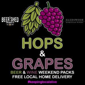 Hops & Grapes Range